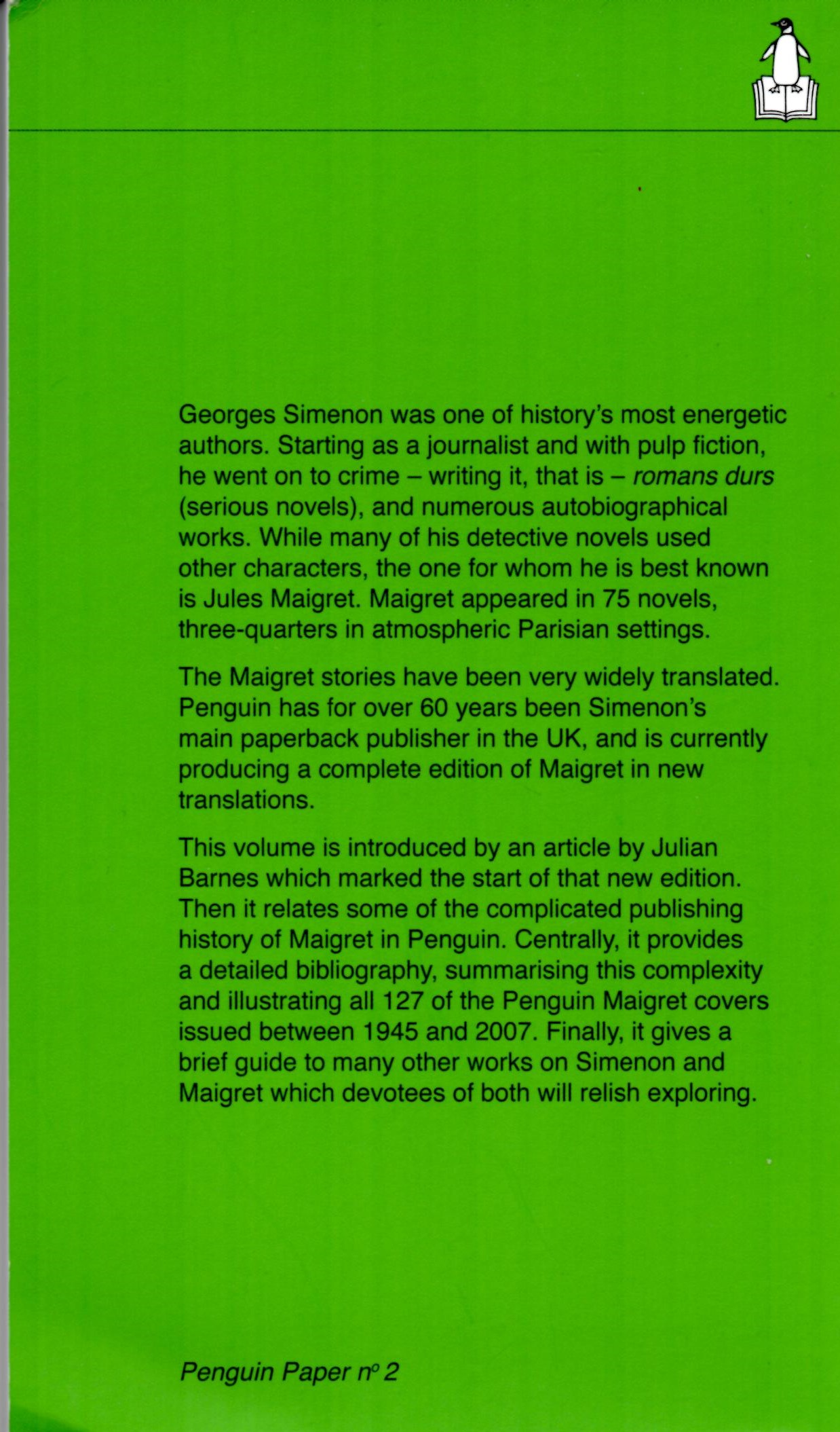 Maigret and the Penguin Books Preview 1