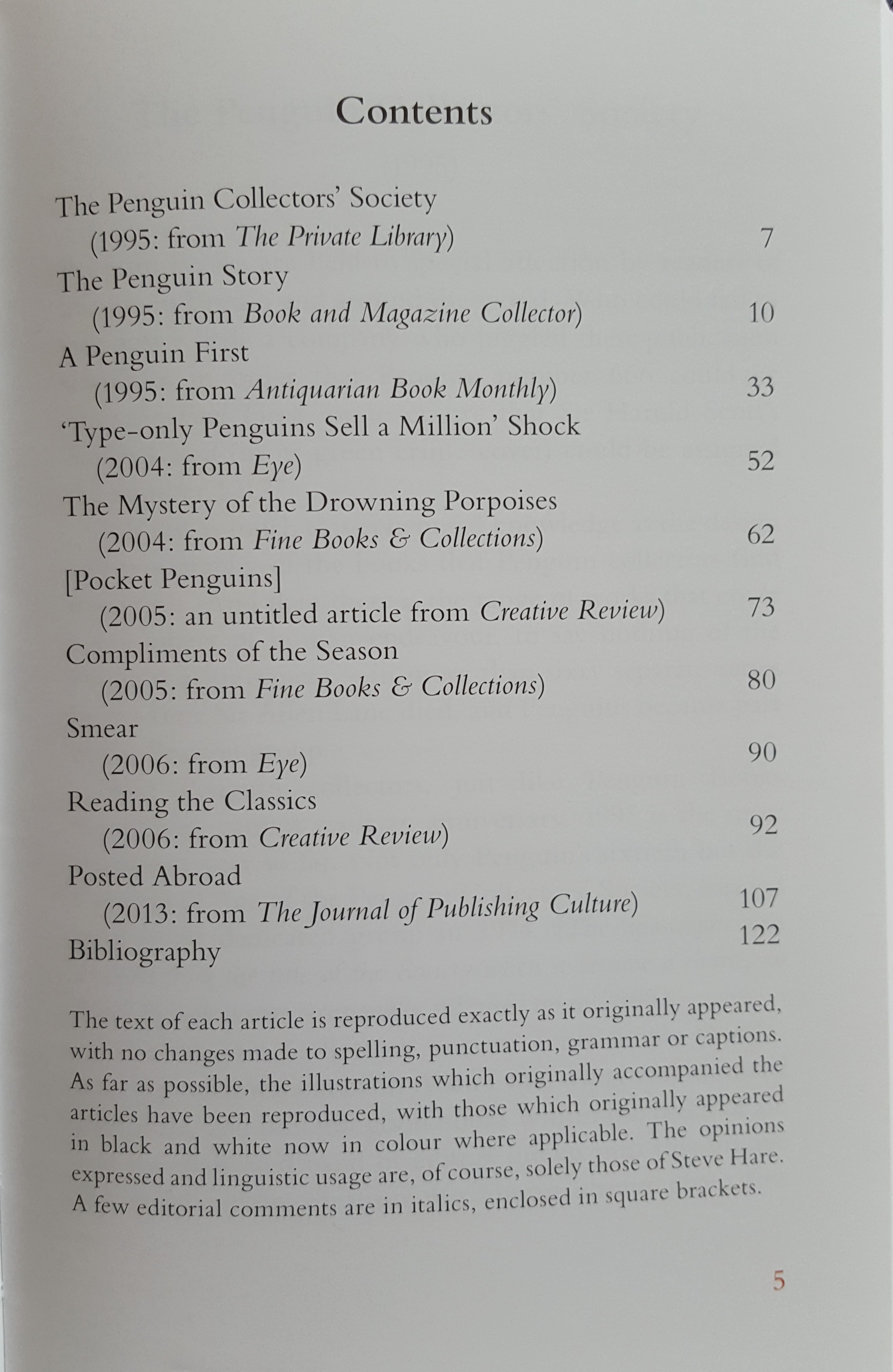 Penguin Scribe a collection of articles on Penguin Books Preview 1