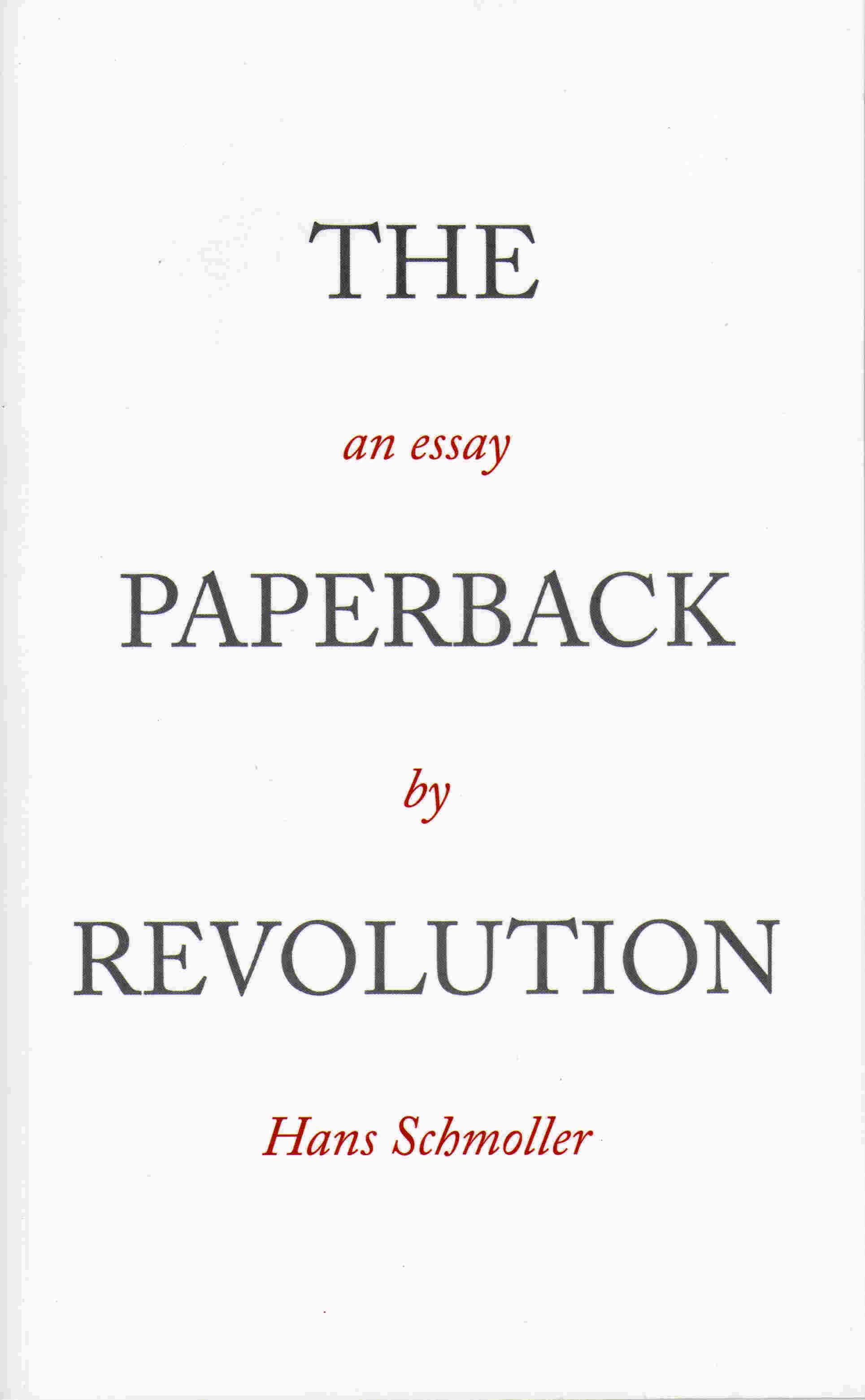 The Paperback Revolution Image 1