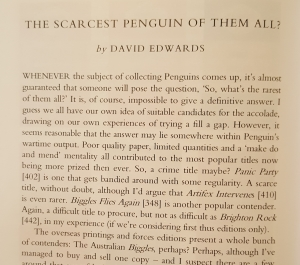 The Scarcest Penguin of them all? Image