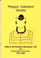Index to the Society's Newsletter 1-30 Image